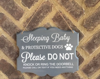 Sleeping Baby sign