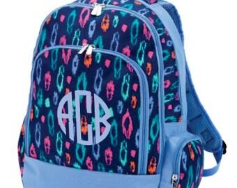 Monogram Laney Leopard Backpack