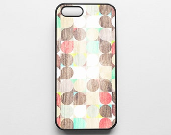 Geometric Pattern Wood Texture iPhone 4/4s, iPhone 5/5s, iPhone 5c, iPhone 6, iPhone 6 Plus Case Cover 079