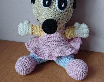 Amigurumi pattern baby Minnie