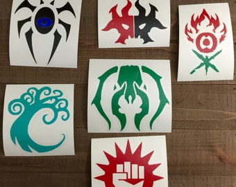 Magic The Gathering Guild Decals