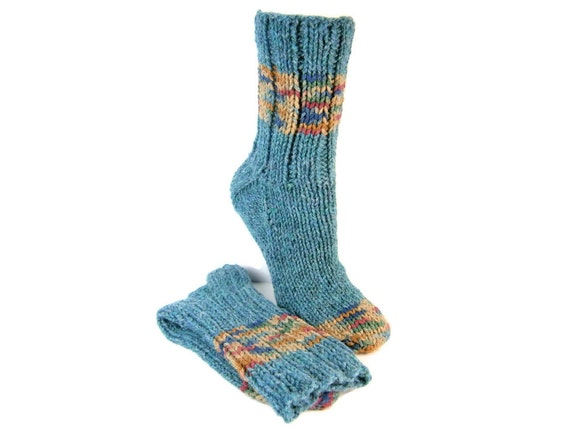 Heavy Duty Wool Socks Hand Knit 80% Wool Socks by ...