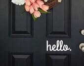 Customize door decal, customize wall decal