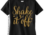 Shake it Off Glitter Youth Tee