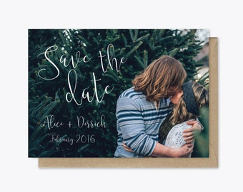Simple Save the Date printable