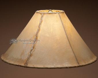 "18"" Rawhide Lamp Shade -Southwestern"