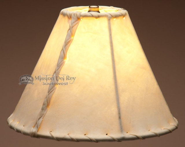 10 Rawhide Lamp Shade Southwest