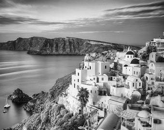 Sunrise, Oia, Santorini, Greece – Fine Art Photograph, Santorini Art, Santorini Photo, Oia Photo,  Oia Art, Greek Islands Photo