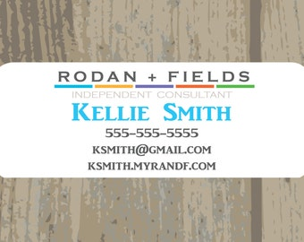 "Rodan and Fields Sticker Address Label DIGITAL FILE 1"" x 2.625"""