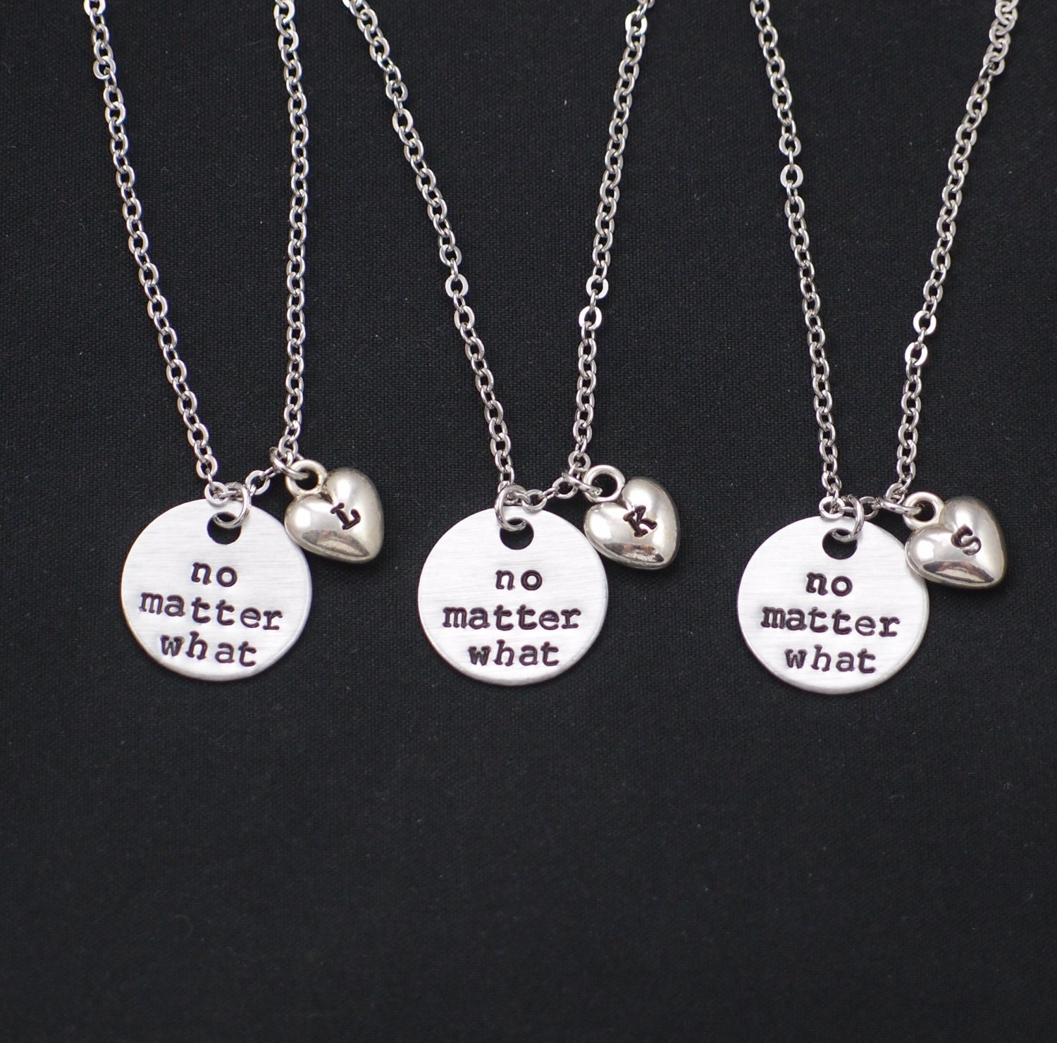 4 best friend necklace  Etsy UK