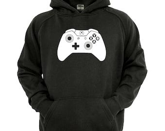 Xbox Controller Hoodie, boys/Girls gamer Hoodie sizes 5-13 years,children's black hoodie