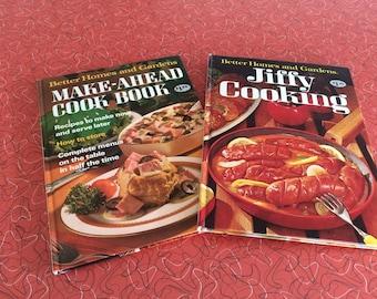Vintage Better Homes and Gardens Cookbooks 1967 & 1971