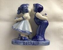 Blue boy figurine | Etsy