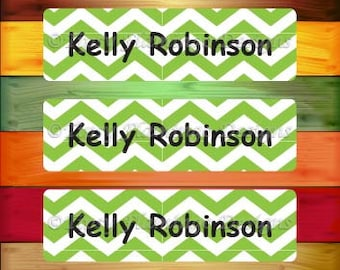 80 Personalized WATERPROOF Stickers, Wateproof Labels, Dishwasher Safe, Daycare Name Tag Stickers, School, Summer Camp Stickers-TFD486