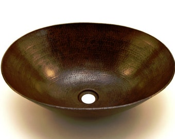 Denali Vessel Bathroom Copper Sink