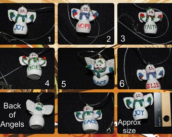 Christmas Angel Necklaces