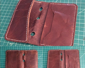 Wournal  Horween Leather Wallet/Journal