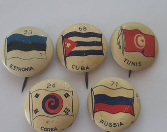 5 Greenduck Co. Chicago Country Buttons