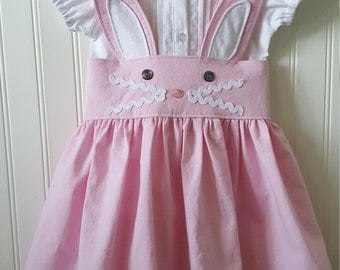 Bunny Suspenders Skirt
