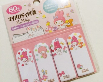 My Melody Sticky Tabs - Sanrio Page Markers