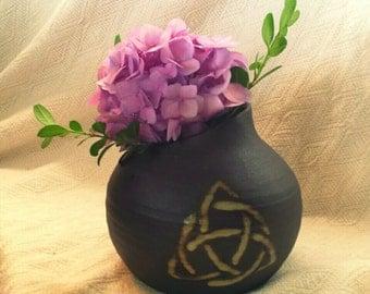Celtic Knot vase