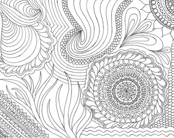 Printable Coloring Pages (Set of 3)
