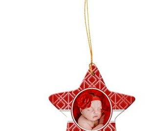 Porcelain Ornament (Custom Photo)