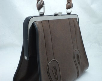 Vintage ladies handbag 1965 - 1970s. Made in URSR (UKRAINE)