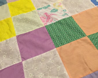 Cotton quilt top