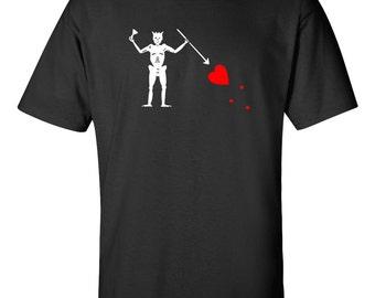 Pirate Blackbeard Flag T-shirt