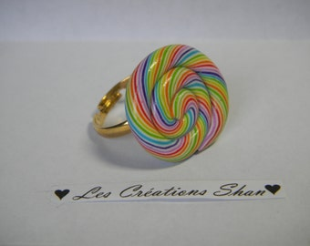 Colorful Lollipop ring