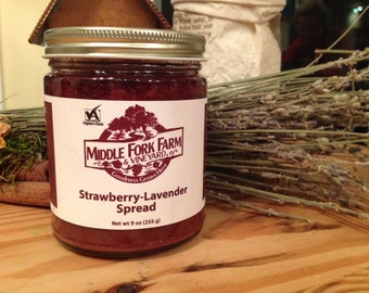 Strawberry Lavender Fruit Spread