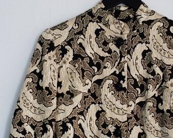 Golden Paisly Jacket from Dekadens Vintage