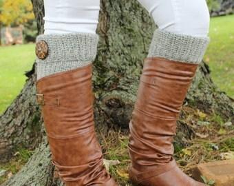 Crochet Leg Warmers and Hand Warmers
