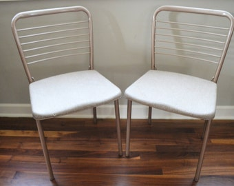 Vintage Folding Chairs   Mid Century Modern Chair   Folding Chairs   Shabby Chic   Metal Folding Chair   Vintage Seating   Cosco Chair