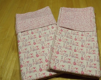 Receiving Blanket Set- Baby Blanket Set - Flannel Blanket Set