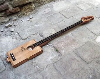 """Cigar Box Guitar """"Montecristo Wood"""""""