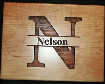 Family Name Board, Personalized Cutting Board with Established Date, Anniversary Gift, Housewarming Gift, Engagement Gift,Home Decor,