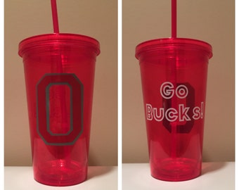 Go Bucks! Ohio State Tumbler