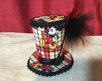 Mickey Top Hat Fascinator