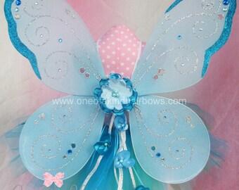 Fairy Wings - Blue Fairy Wings - Faerie Wings - Butterfly Wings