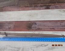 Reclaimed/Rescued Fancy Barn Door Strap Arrow Hinge