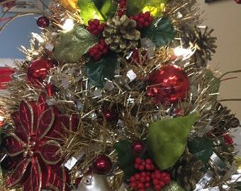 Pre-Lit Tabletop Christmas Tree