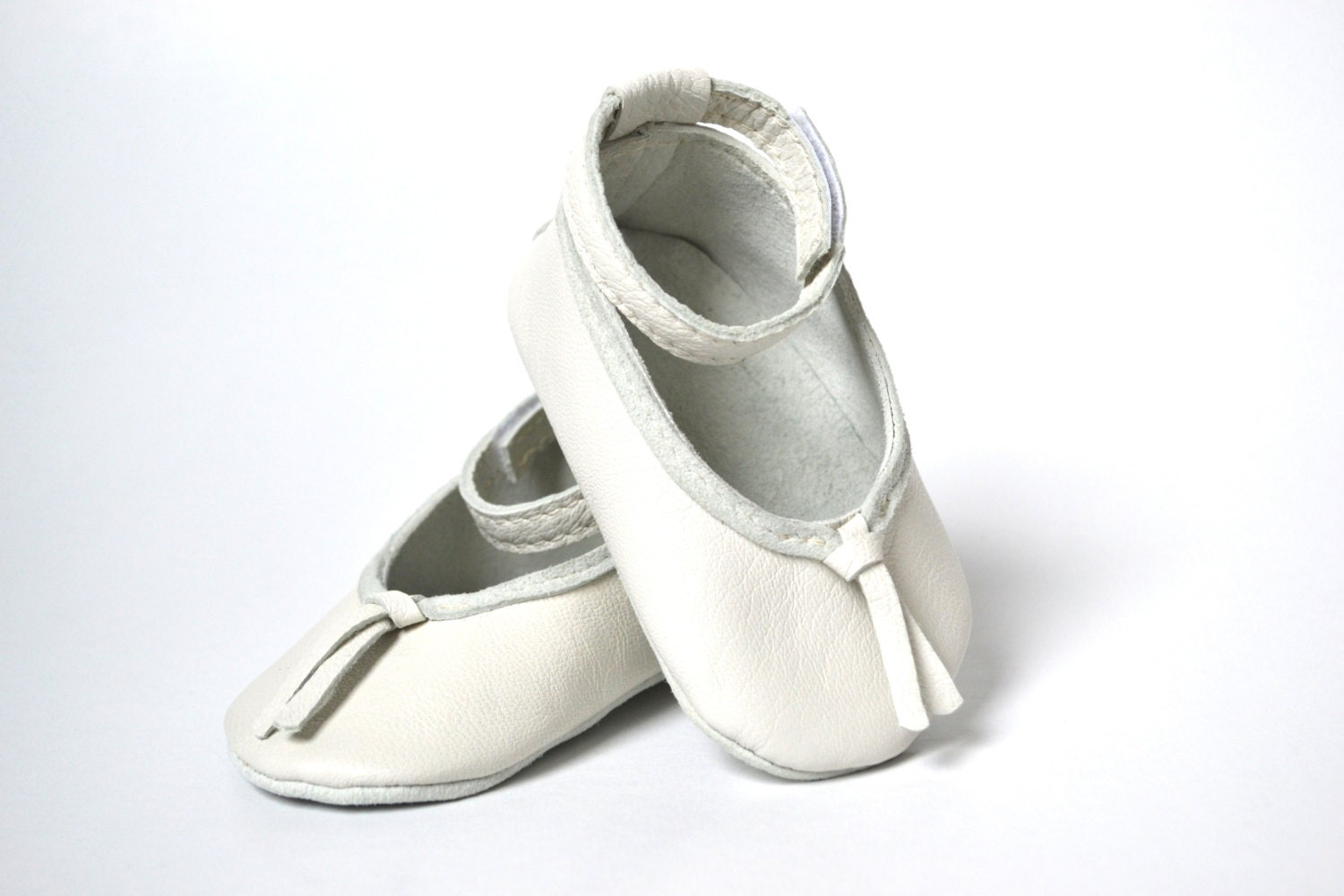 white leather baby ballet shoes baby shoes soft by