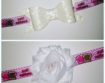 Peanut Butter & Jelly Headband!