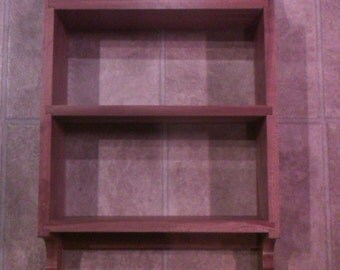 Cherry Wall Shelf