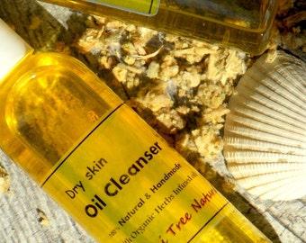 Silk Oil Cleanser - 100% Vegan - Dry skin Cleanser /Hydrating cleanser/Moisturizing cleanser(4oz)