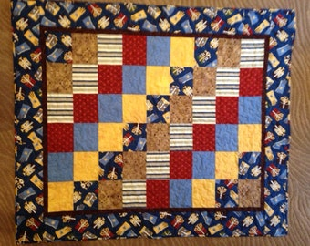 Western quilt, handmade quilt, cowboy quilt