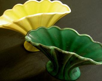pair of mid century vases