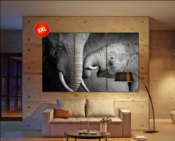 elephant  canvas wall art elephant wall decoration elephant canvas wall art art elephant large canvas wall art  wall decor